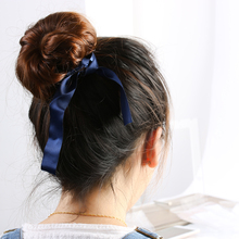 Elastic Foam Hairbands with Bows