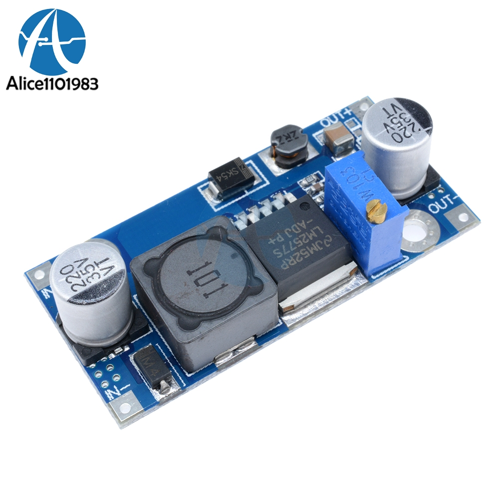 In Knowledgeable Lm2577 Acs712 Sensor 5v 5a Range Dc-dc Booster Module Power Supply Module Output Adjustable Super Step Up Module Superior Quality