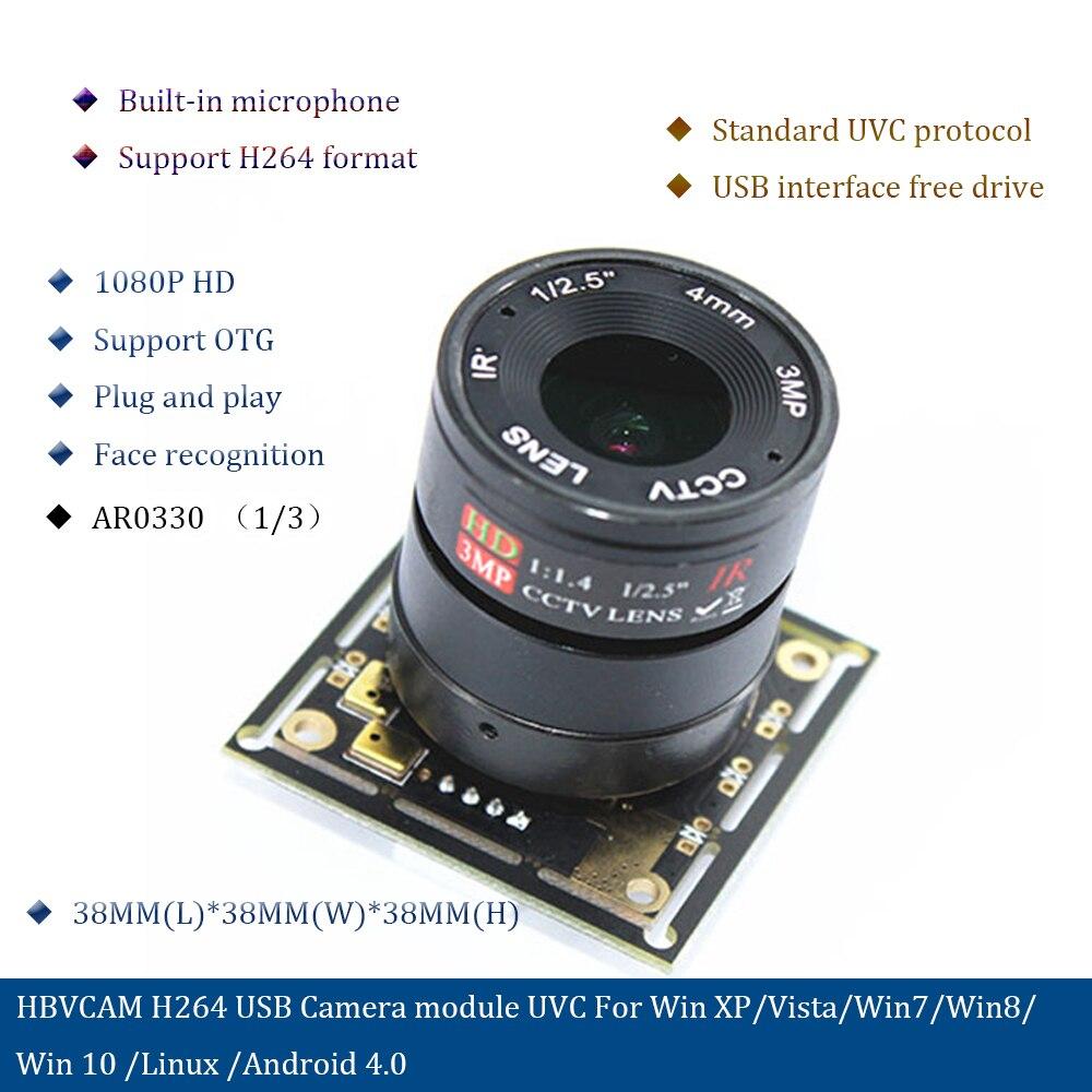 H264 USB Camera module uvc for Win XP Vista Win7 Win8 win 10 Linux Android 4