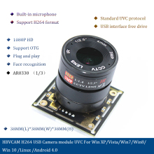 H264 USB Camera module uvc for Win XP/Vista/Win7/Win8/win 10 /Linux /Android 4.0