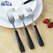 4pcs/lot  Stainless Steel Cake Fruit Forks Kitchen Tool fruit vork fruit picks dessert fork forks cutlery