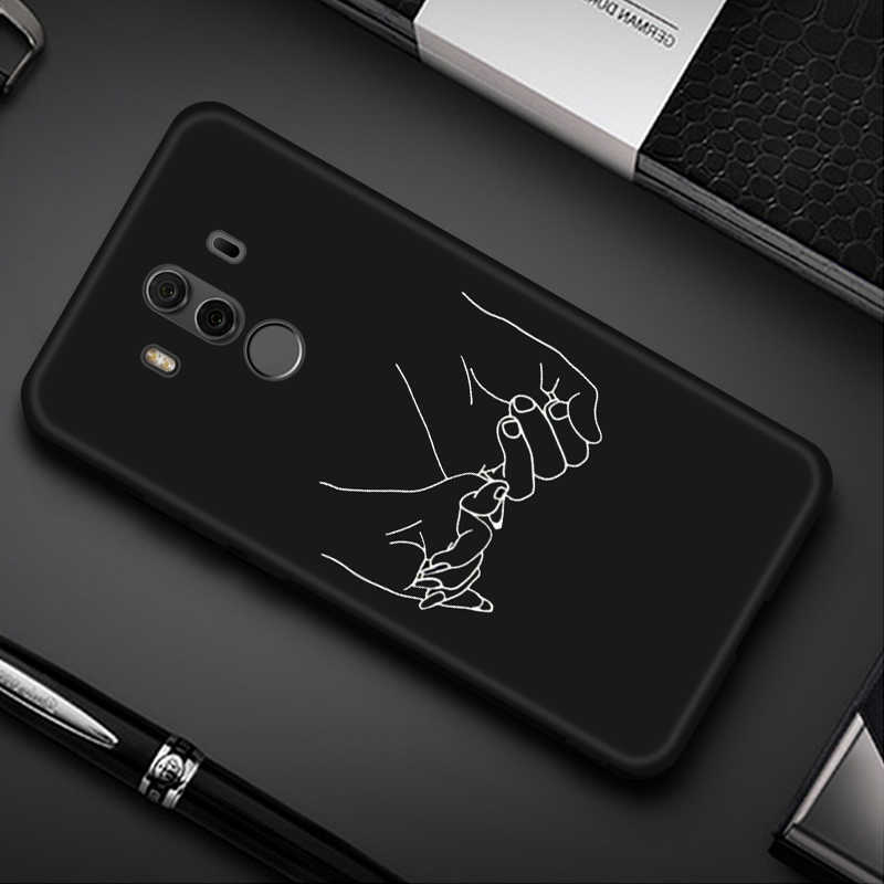 Lovely Painted Case For Huawei Honor 8X Max 8C 8A Nova 4 3 3i Silicone Slim Cover For Huawei Y5 Y6 Prime 2018 Y7 Y9 2019 Cases
