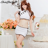Summer Style Hot Selling Sexy Lingerie White Sexy Dress Suit Tight Fitting Uniforms Temptation Clothing Free