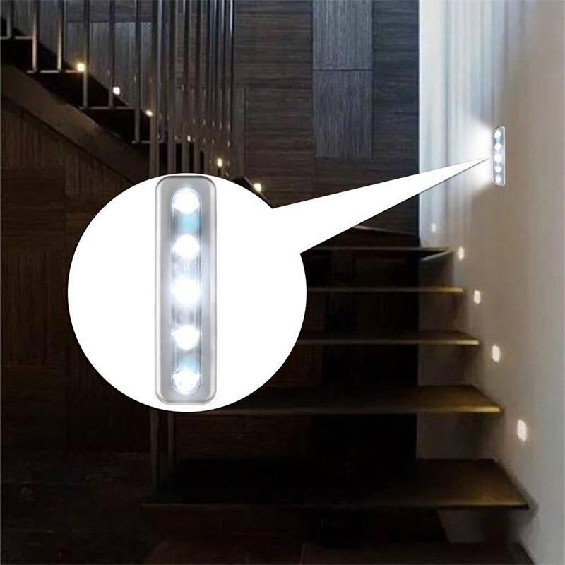 Led-lampen 3 Stücke Led Nacht Licht Mit Infrarot Pir Motion Sensor Batterie Powered Wand Licht Runde Nacht Lampe Schrank Licht Nacht Lampe In Vielen Stilen Led-innenwandleuchten