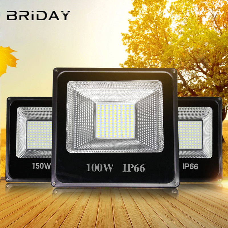 Led Floodlight 30W 50W Led Reflector 100W Led IP66 Waterproof Led Flood Light 200W 300W LED Spotlight Street Lamp 220V Light цена