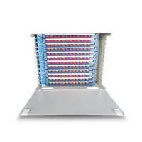 144 ядер для монтажа в стойку волоконно оптических ODF патч Панель, ODF оптической распределительной коробке