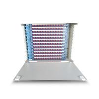144 Cores Rack Mounted Fiber Optic ODF Patch Panel, ODF Optical Distribution Box