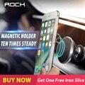 Рок Универсальная Магнитной Автомобильный Телефон Держатель Air Vent Mount Magnet Cell телефон Стенд Для GPS iPhone 6 7 5S HTC Samsung Xiaomi