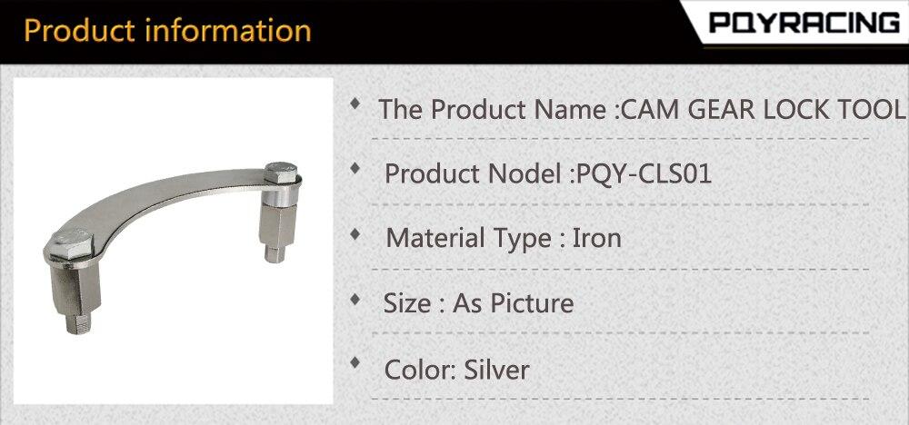 Compre PQY Ferramenta De Bloqueio De Engrenagem Cam / Camlock Ferramenta  Para Subaru IMPREZA WRX STI 2 0L Ou 2 5L DOHC EJ205, EJ207, EJ255, FXJ  EJ25,
