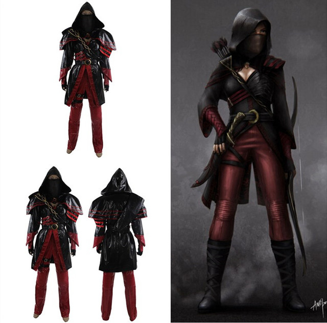 green arrow season 2 nyssa al ghul katrina law costume outfit for women halloween cosplay costume