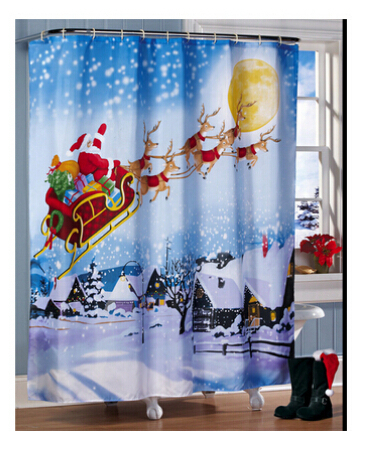 Online Buy Wholesale holiday shower curtains from China holiday ...