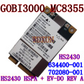 Sierra Wireless 3 G tarjeta MC8355 Gobi3000 HS2430 HSPA + Card EV-DO REV A 14 Mbps / 3.1 Mbps SPS 634400-001