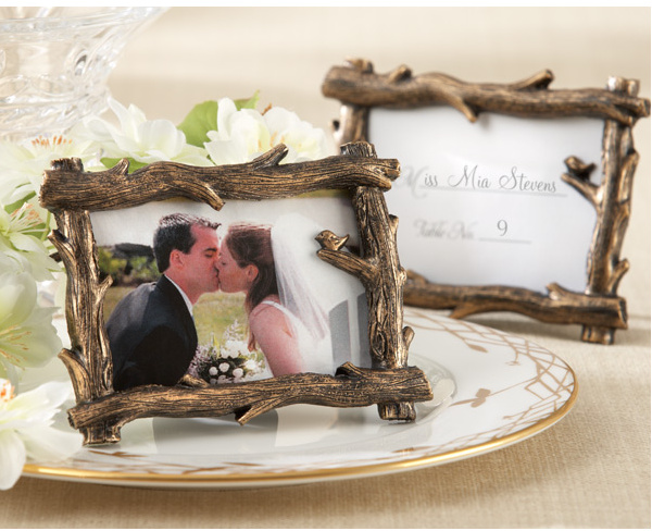 50pcs LOT 2016 New Scenic View Tree Branch Place Card Holder Photo Frame Wedding Favors Gifts