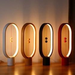 LightMe Creative Smart Balance Magnetic Switch LED Table Night Light Lamp For Halloween Christmas Lights Decoration