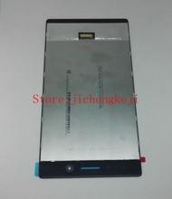 Для Lenovo Tab 3 Tab3 TB3-730X/TB3-730M Жк-дисплей + Сенсорная Панель Стекла Дигитайзер Ассамблея бесплатная доставка Экран Замена