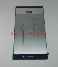 Für lenovo tab 3 tab3 tb3-730x/tb3-730m lcd display + touch panel glas digitizer assembly kostenloser versand pantalla ersatz