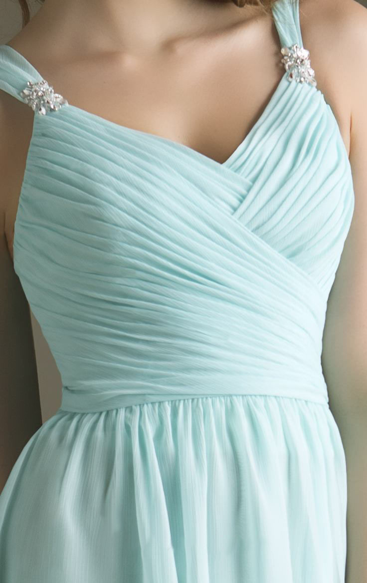Hot fashion junior bridesmaids dresses short 2017 light blue hot fashion junior bridesmaids dresses short 2017 light blue chiffon vestido madrinha wedding party dress with beads pleat b044 in bridesmaid dresses from ombrellifo Images