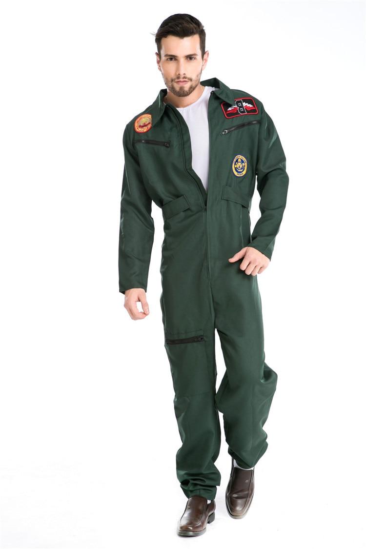 Pilotes costume pour homme jetpilot Costume pilote de chasse Costume Aviateur Costume pilote