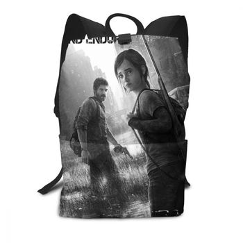 The Last Of Us Backpack The Last Of Us Backpacks Trending Multifunctional Bag Shopping High quality Man - Woman Print Bags helen parr backpack helen parr backpacks student high quality bag print trending shopper multifunction bags