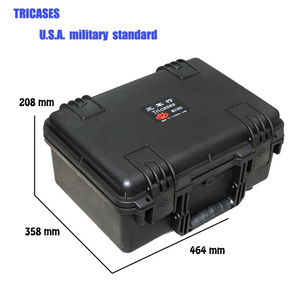 Tricases factory waterproof waterproof dustproof hard plastic case profession trolley tool cases M2360 for electric device tricases factory oem odm waterproof hard plastic case profession trolley tool cases m2360
