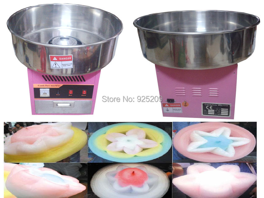 Free shipping~with CE and ETL Cotton candy machine, candy floss machine/ Cotton candy maker professional cotton candy floss machine cotton candy vending machine with low price