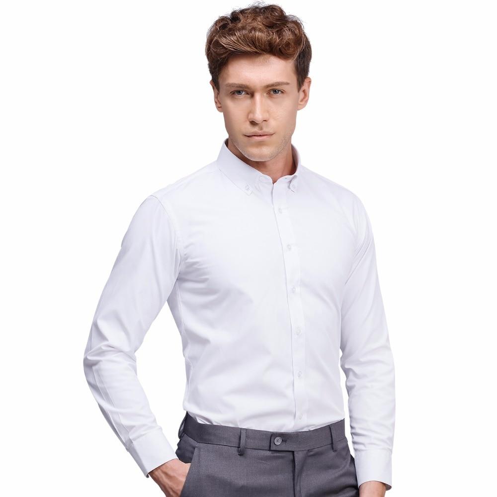 White Business Dress Shirt