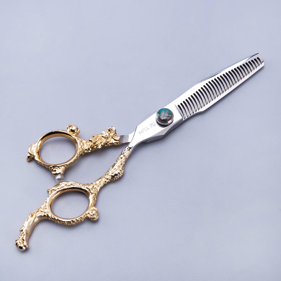 SI YUN 6.0inch (17.00cm) אורך DG60 מודל דילול סוג - טיפוח השיער וסטיילינג