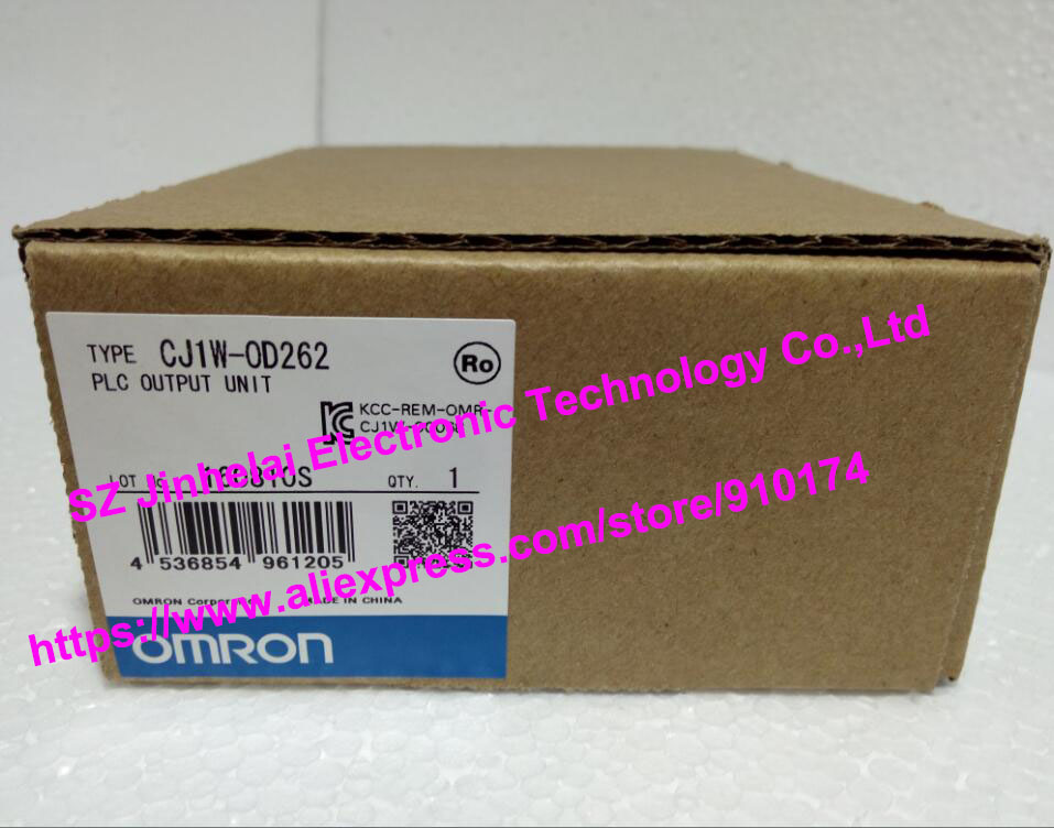 все цены на  100%New and original  CJ1W-OD262, CJ1W-OD263 OMRON PLC CONTROLLER   Output unit  онлайн