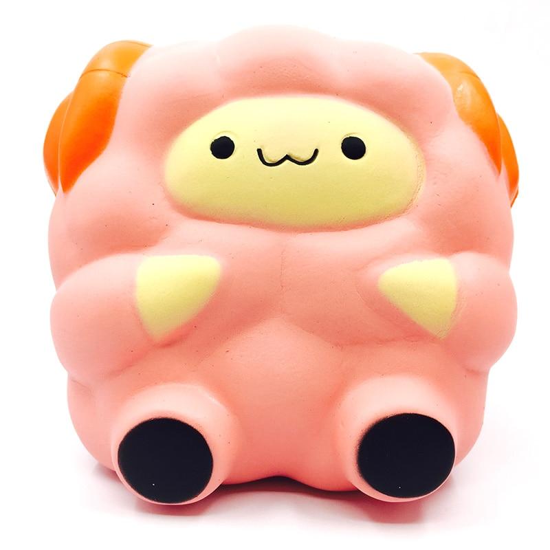 Rare Squishy Package : squishy 1pcs kawaii rare squishy jumbo cute sheep slow rising squishy with package scented ...