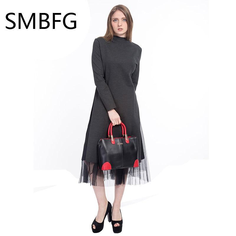 Ženske usnjene torbice ženska nova ženska oblačila moda svetlo - Torbice - Fotografija 3
