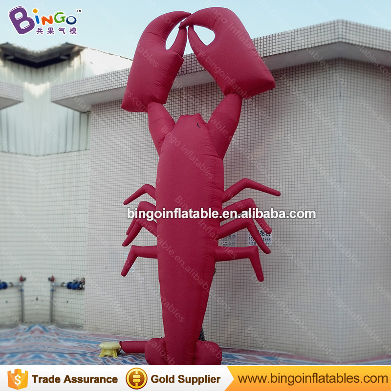Ocean theme Decor Inflatable Marine Animal Balloons Inflatable Lobster Replica with Free Blower inflatable outdoor toys 3 beam of balloons colorful magic water balloons outdoor recreation and water play toys