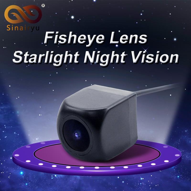 Waterproof HD 170 Degree Sony MCCD Fisheye Lens Starlight Night Vision Car Reverse Backup Rear View