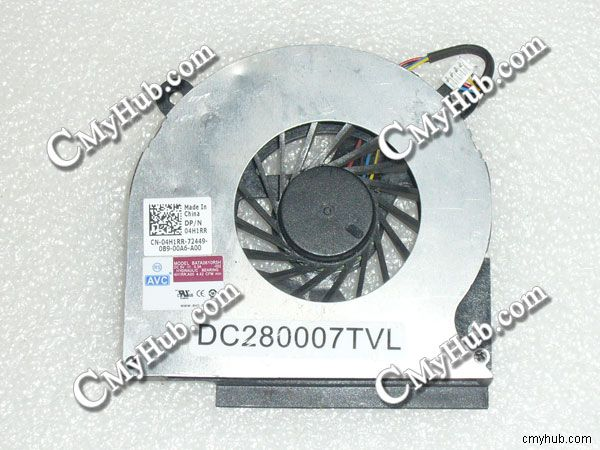 Оригинальный вентилятор охлаждения для Dell Latitude E6410 04H1RR 4H1RR BATA0610R5H -002 DC280007TVL DC5V 0.3A 4 провода 4Pin