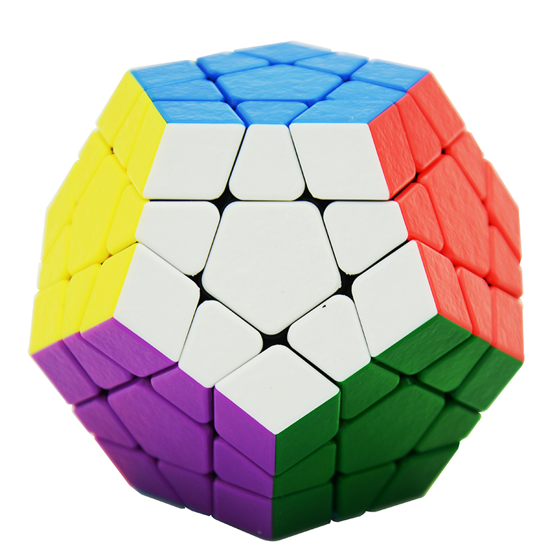 Lefun Shengshou GEM 3x3x3 Megaminx Magic Cube SS Speed Cube Twist Puzzle Toys For Children Kids