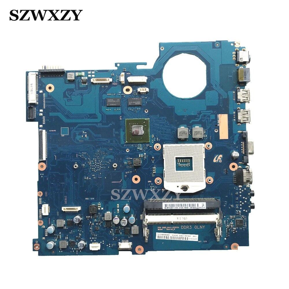 For Samsung RV520 Laptop Motherboard HM65 DDR3 GT520M 1GB GPU BA92 08186A BA92 08186B BA41 01608A