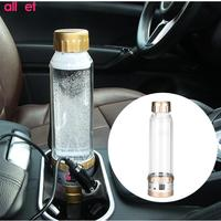 280ml Car Electric Kettle Car Based Thermal Mug Heating Boiling Water Cup Holder Auto Heating Cup