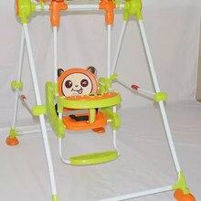 Детское кресло-качалка с металлической трубкой, домашняя колыбель, детское кресло-качалка, детские игрушки, детские качели для помещений, детские качели для активного отдыха