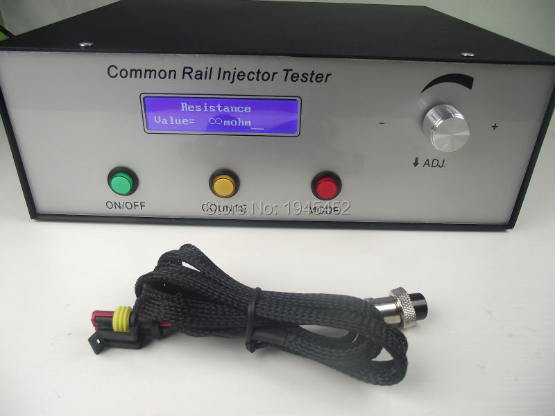2018 nouveau type CRI200 haute pression testeur d'injecteur à rampe commune Support injecteurs magnétiques et piézo-électriques, outil à rampe commune