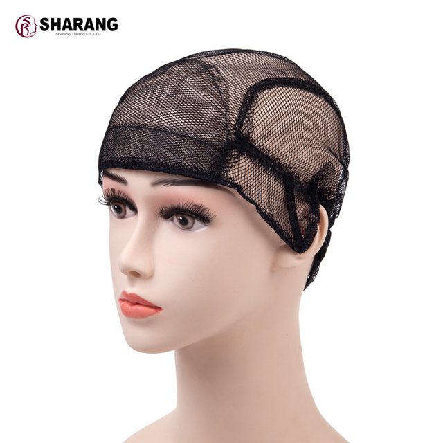 S R Wig Cap For Making Wigs With Adjule The Back Weaving Net Glueless