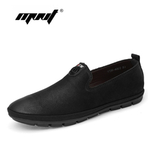 High Quality Causal Shoes Men Leather Loafers Moccasins Male Slip On Flats Genuine Leather Men Driving Shoes цена