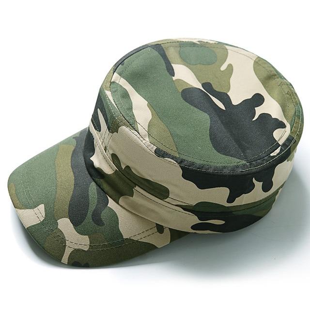 Kamuflase Berburu Topi Militer Taktis Hijau Camo Topi Outdoor Berburu Topi  untuk Pria dan Wanita Gorra 1da43bee33