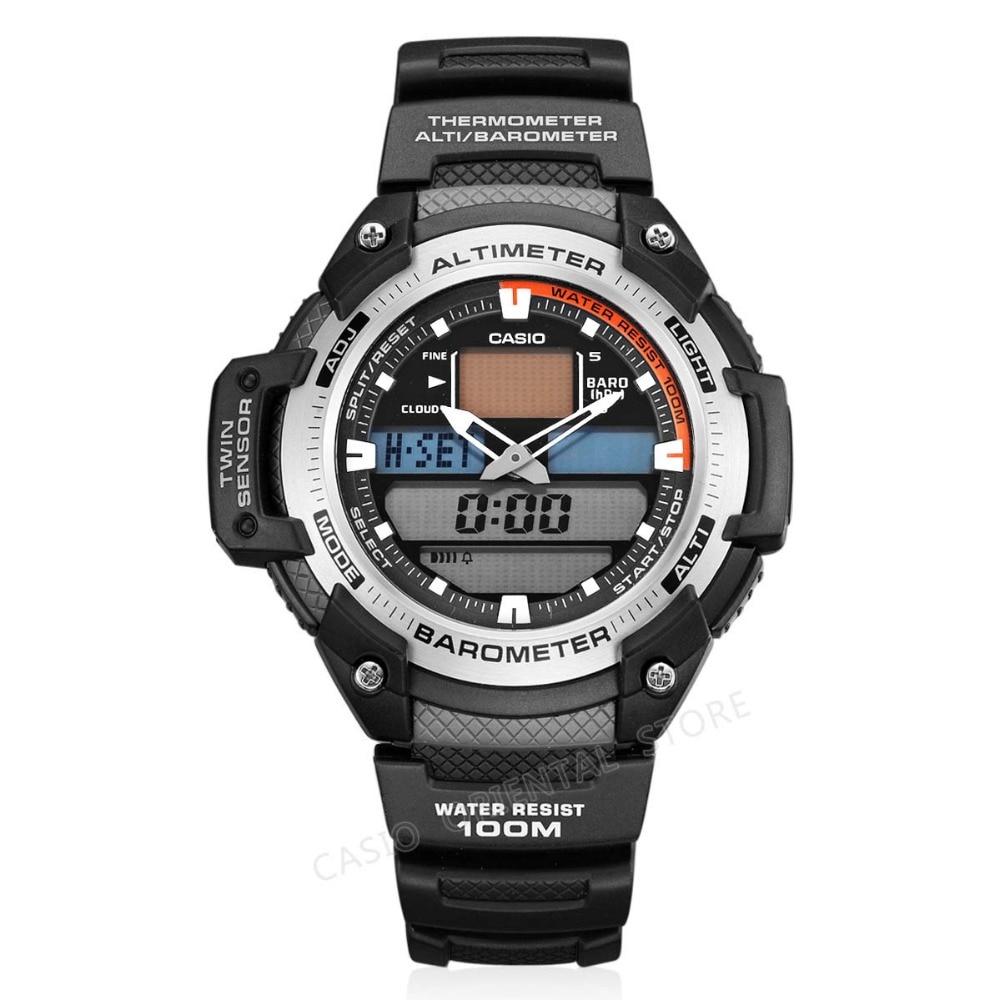 8bf9abe06f0 CASIO WATCH 2017 Chronograph Sport Mens Watches Top Brand Luxury Military  Quartz Watch Relogio Masculino Measure