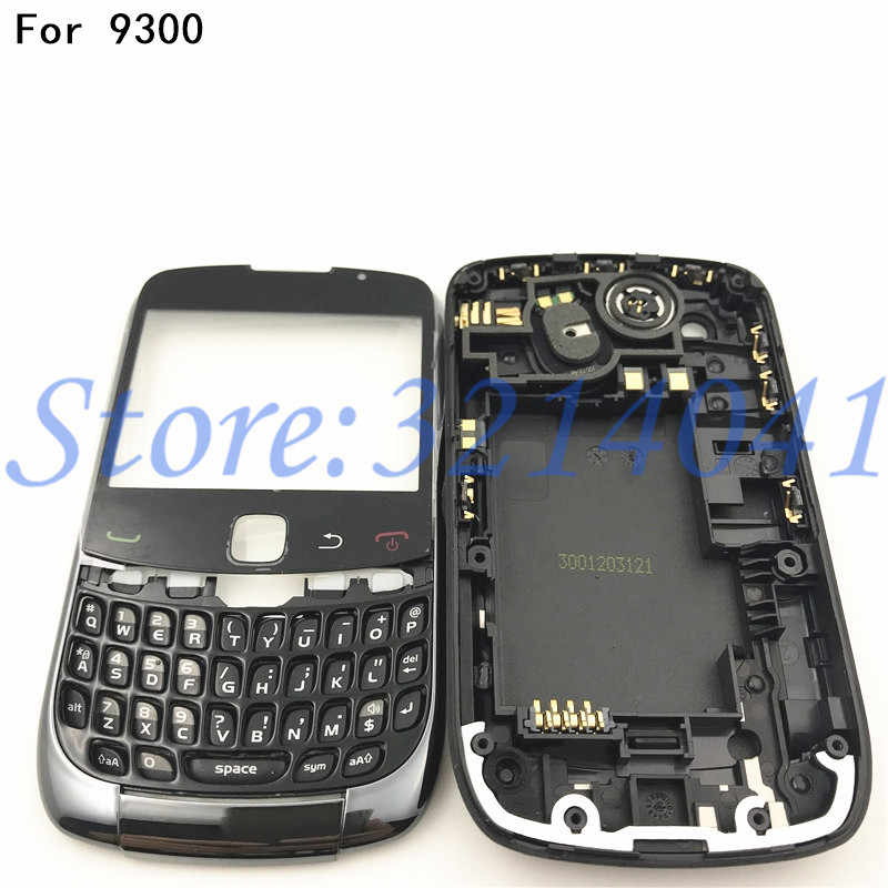 low priced 57163 649fc Good quality Original New Full Set Housing For Blackberry Curve 9300  Housing Back Battery Cover Case +Side Button Keypad