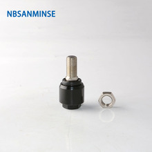 NBSANMINSE Floating connector Pneumatic Cylinder Joint in Pneumatic Parts For ISO6431 ISO6432 ISO5552 Cylinder