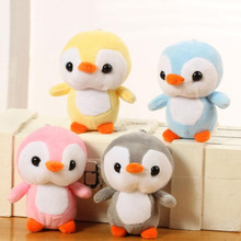 4 color Penguin Toys 10CM Kawaii Penguin Plush Stuffed Toy Doll Cute Animal Plush Toys Gift Baby Toys Home Decor Party Gift 25cm kawaii penguin with bag plush toy doll soft stuffed penguin cartoon animal toy cute birthday gift for children baby kid
