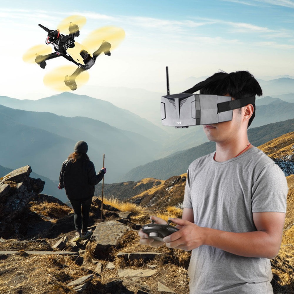 (In Stock) Hubsan H122D X4 Storm 5.8G <font><b>FPV</b></font> Micro <font><b>Racing</b></font> RC Camera <font><b>Drone</b></font> Quadcopter with HD 720P Camera 3D Roll Goggles Compatible image