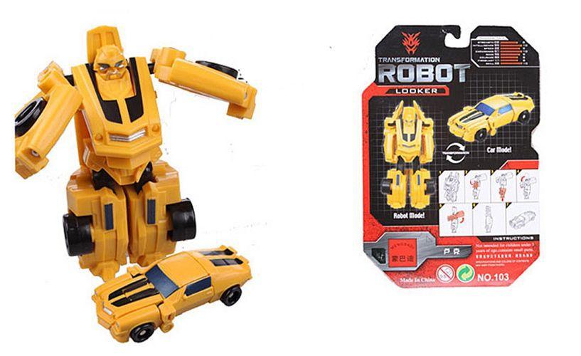 1pc Transformation Kids Classic Robot Cars