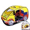 Buena calidad del envío gratis Chilren lindo en forma de coche carpas jugar encuentra la marca regalo para niños infantil interior y exterior