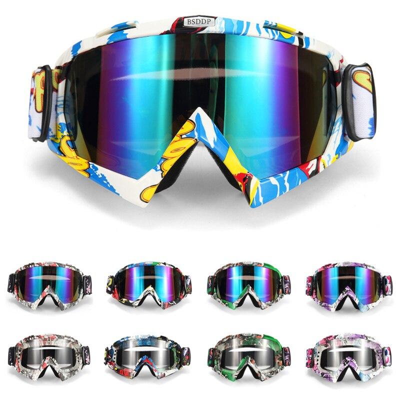 Мотоцикл очки мотокроссу очки Oclos крест шлем маска Велоспорт MX шоссе шлем очки Лыжный Спорт Gafas