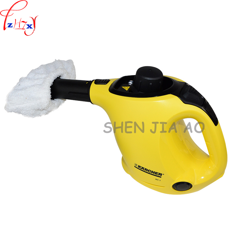 Household high temperature kitchen bathroom steam cleaning machine handheld high temperature sterilization washing machine 1pc 1400w high temperature steam cleaner mop handheld kitchen steam cleaning machine sc1 household steam cleaner